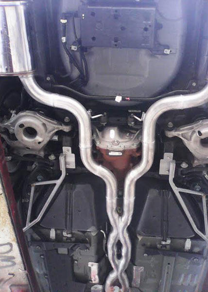 Affordable Double X Pipe Exhaust System